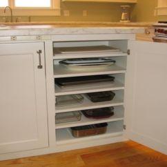 Kitchen Corner Cabinet Storage Stainless Steel Prep Table 70 Inspiring Ideas Round