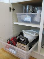 Corner kitchen cabinet storage 66