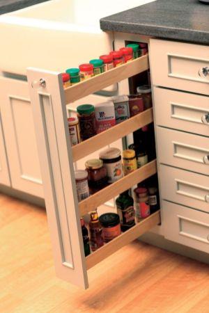 Corner kitchen cabinet storage 68