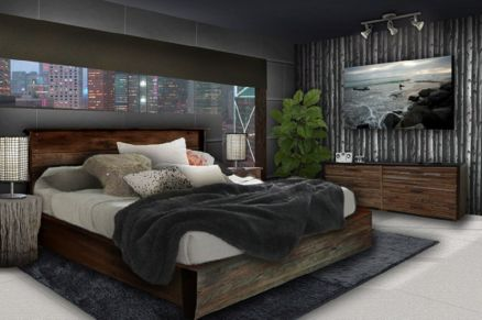 Creative apartment decorations ideas for guys 45