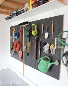 Creative garden tool storage ideas (2)