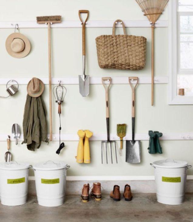 Creative garden tool storage ideas (24)