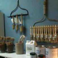 Creative garden tool storage ideas (7)