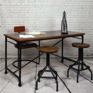 Creative metal and wood furniture 10