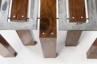 Creative metal and wood furniture 23