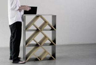 Creative metal and wood furniture 30
