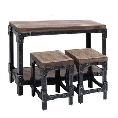 Creative metal and wood furniture 34