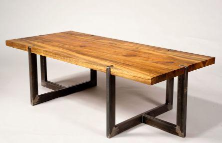 Creative metal and wood furniture 45