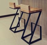 Creative metal and wood furniture 51