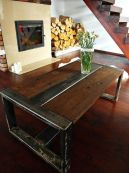 Creative metal and wood furniture 52