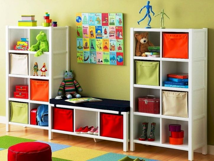 Creative toy storage ideas for living room 07