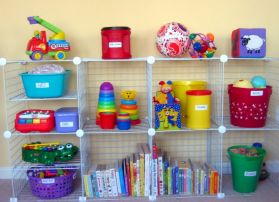 Creative toy storage ideas for living room 11