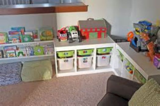 61 Creative Toy Storage Ideas for Living Room - ROUNDECOR