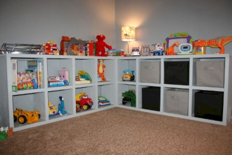 Creative toy storage ideas for living room 22