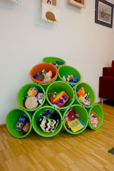 Creative toy storage ideas for living room 31