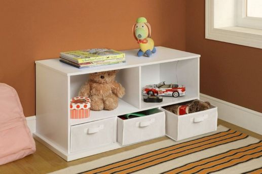 Creative toy storage ideas for living room 34