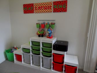 Creative toy storage ideas for living room 45