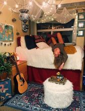 Cute apartment bedroom ideas you will love 04