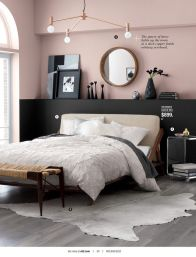 Cute bedroom design ideas with pink and green walls 07