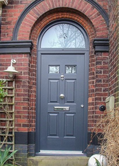 Exterior paint color ideas with red brick 41