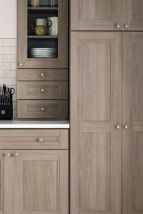 Gray color kitchen cabinets 29