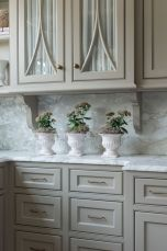 Gray color kitchen cabinets 43