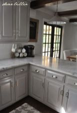Gray color kitchen cabinets 50