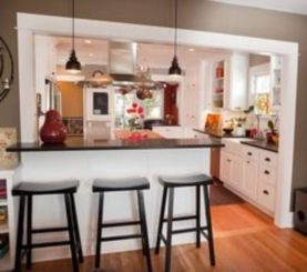 Half wall kitchen designs 06