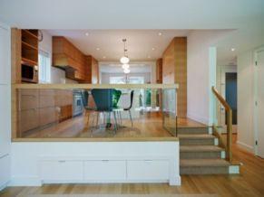 Half wall kitchen designs 16