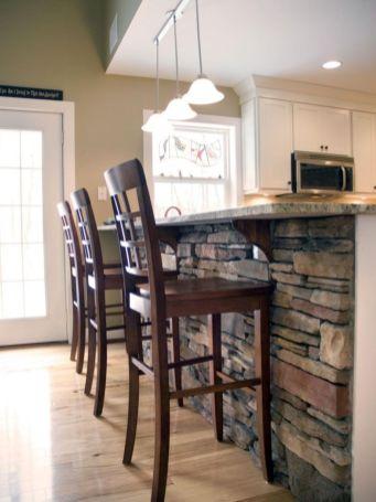 Half wall kitchen designs 18