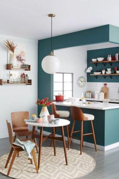 Half wall kitchen designs 19