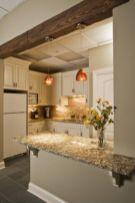 Half wall kitchen designs 35