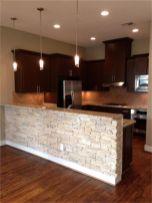 Half wall kitchen designs 37