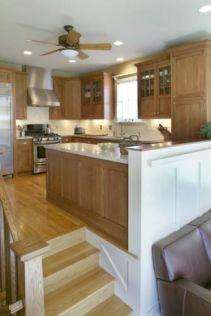 Half wall kitchen designs 42
