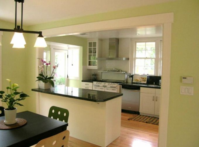 Half wall kitchen designs 45