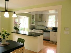 Half wall kitchen designs 45