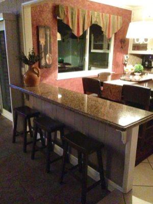 Half wall kitchen designs 51