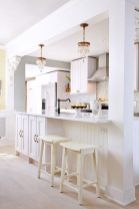 Half wall kitchen designs 56