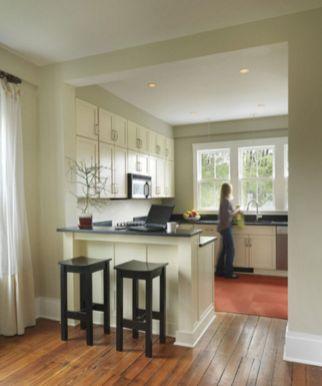 Half wall kitchen designs 57