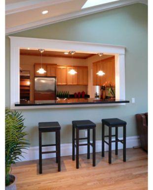 Half wall kitchen designs 58