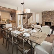 Incredible rustic dining room ideas 20