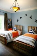 Inspiring bedroom design ideas for boy who loves basketball 42