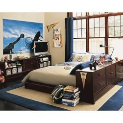Inspiring bedroom design ideas for boy who loves basketball 57