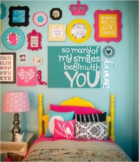 Inspiring bedroom design ideas for teenage girl 14