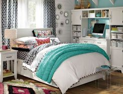 Inspiring bedroom design ideas for teenage girl 20