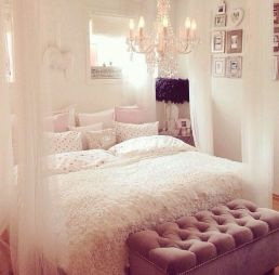 Inspiring bedroom design ideas for teenage girl 71