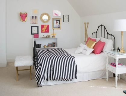 Inspiring bedroom design ideas for teenage girl 72