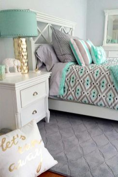 Inspiring bedroom design ideas for teenage girl 73