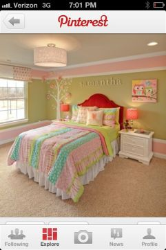 Inspiring bedroom design ideas for teenage girl 75
