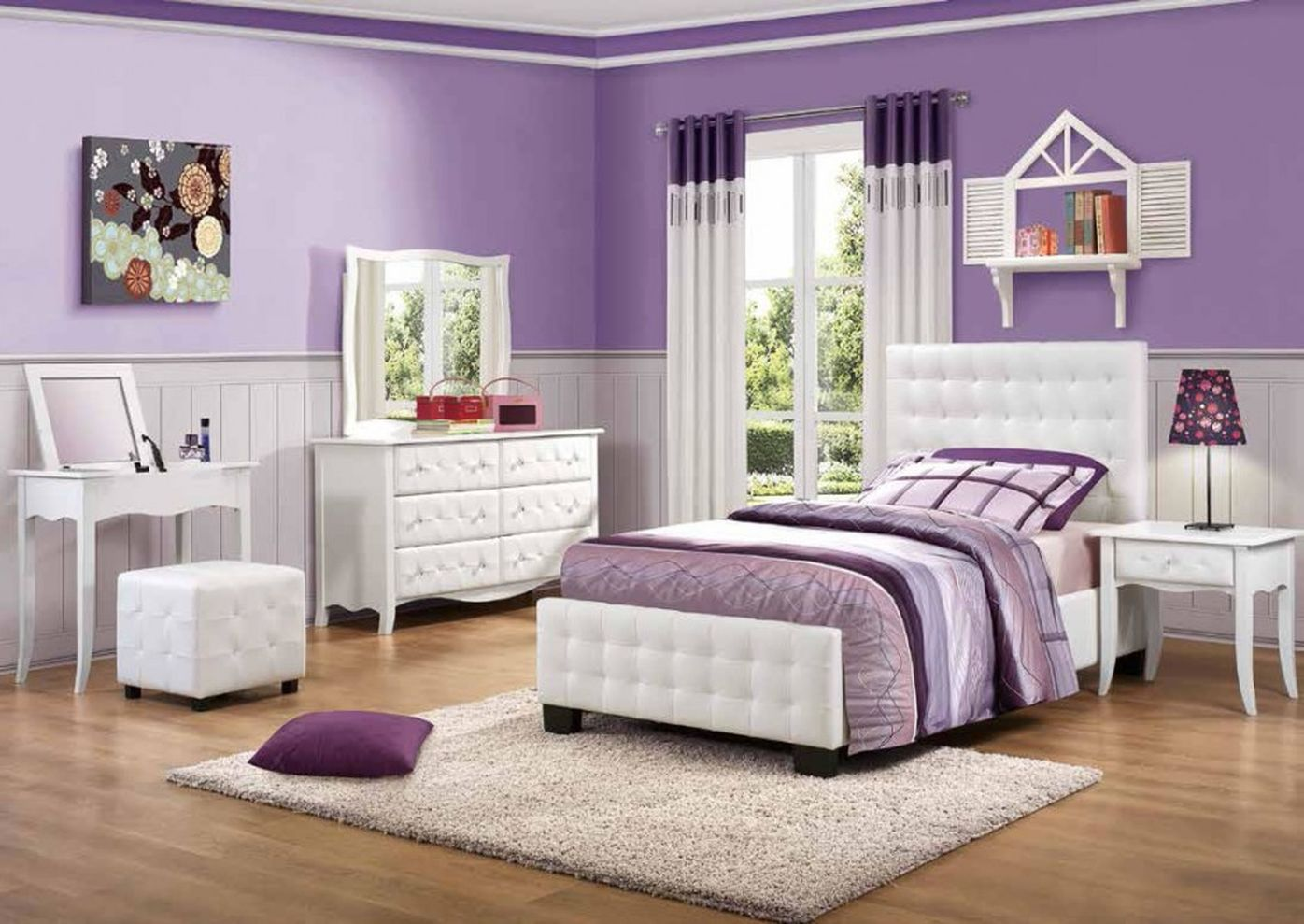 Inspiring bedroom design ideas for teenage girl 76